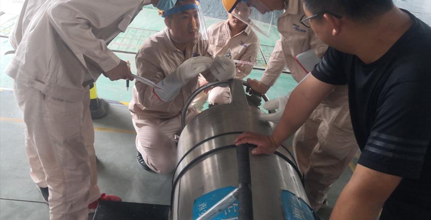 低温气瓶检测